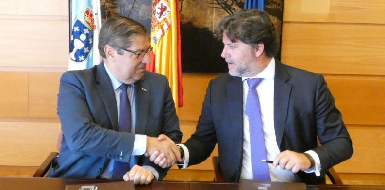 Universidade da Coruña e ITG crean la Cátedra ITG-CITIC en Tecnologías de Aeronaves no Tripuladas