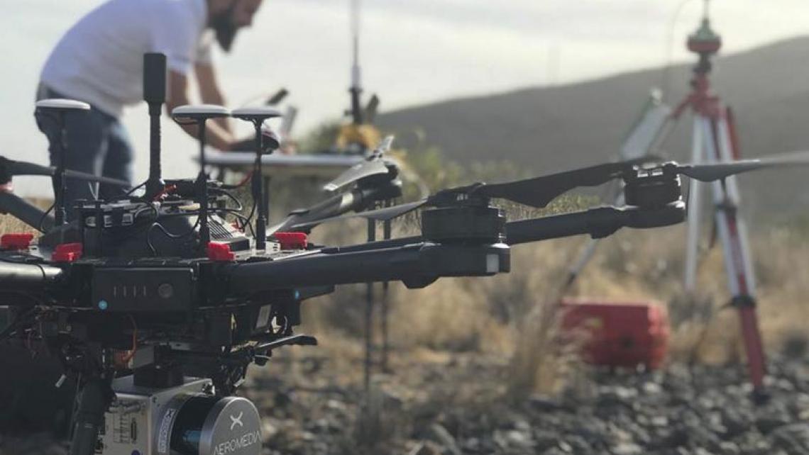 Los Equipos LIDAR de Aeromedia no paran ni en Verano!!