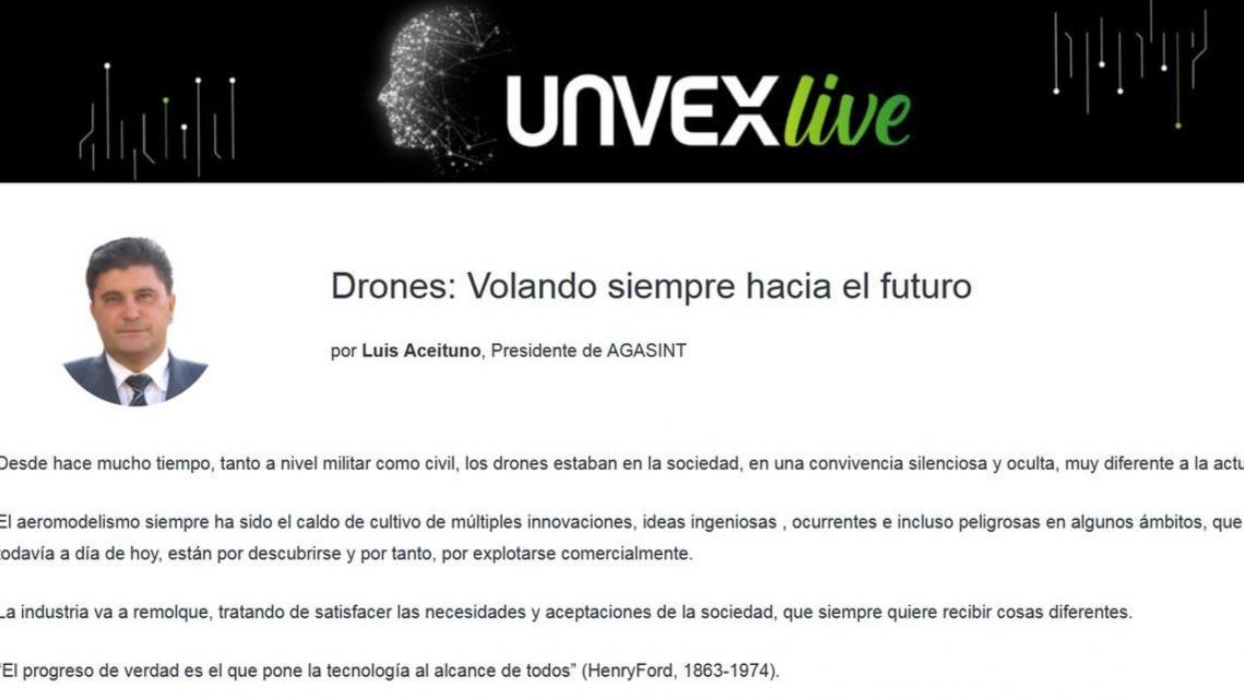 Drones: Volando siempre hacia el futuro